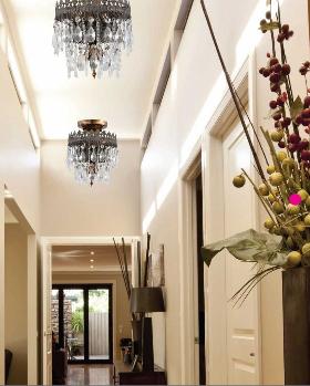 Crystorama Catalogue Hallway