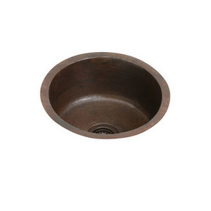Single Basin Antique Copper Sink from Elkay