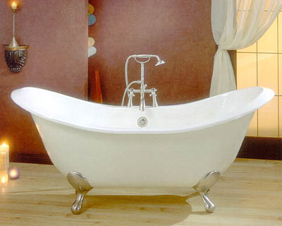Edwardian Clawfoot Bathtub
