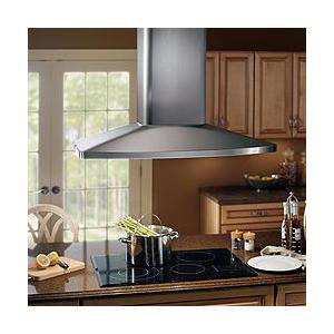 Large Stainless Steel Range Hood from Broan