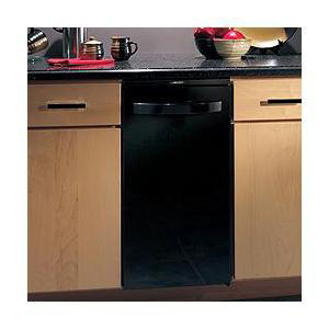 The Broan Elite Series Trash Compactor in Black