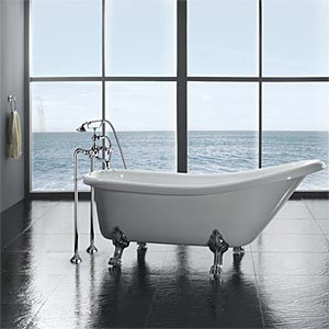The Classic Clawfoot Bathtub