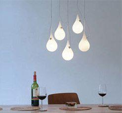 Teardrop Modern Lighting