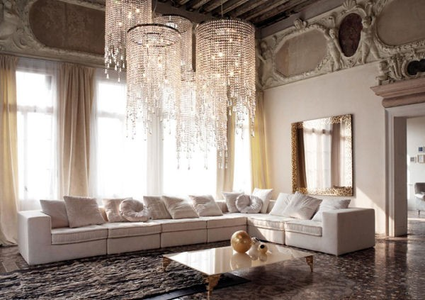 Large living room chandeliers