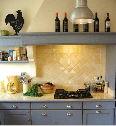 Provincial Kitchen with Mosaic