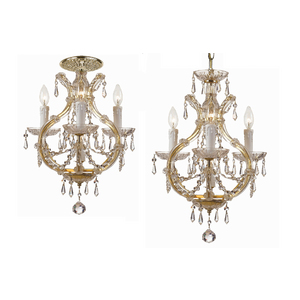 The Maria Theresa Mini Chandelier from Crystorama