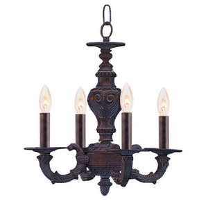 The Sutton Collection Mini Chandelier from Crystorama