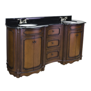 Tesla Walnut Vanity from Hardware Resources