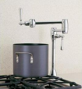 Blanco Pot Filler (Deck Mounted) - Chrome
