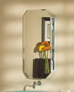 Broan Octagon Beveled Medicine Cabinet