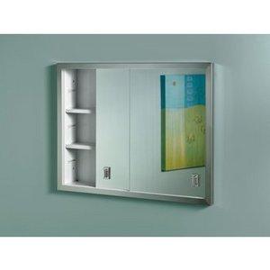 Broan Slider, Stainless Frame Medicine Cabinet