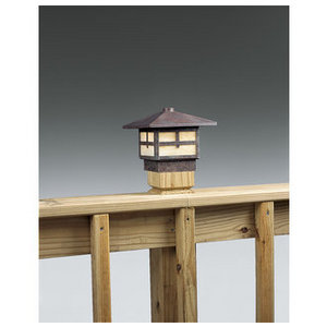 Mission Deck Rail Landscape Lighting Fixture from the Mission Collection