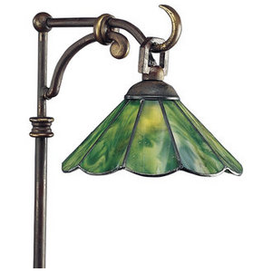 Progress Lighting Stained Glass Tiffany Path Light from the Landscape Lighting Collection