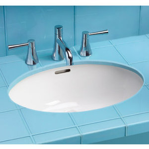 Toto Undermount Lavatory Sink with SanaGloss
