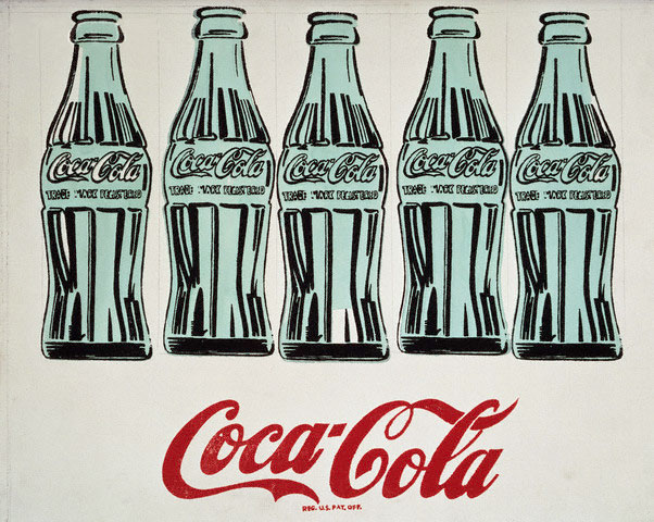 Coca Cola Depicted by Andy Warhol