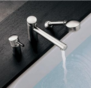 Brizo Quiessence Single Handle Roman Tub Faucet