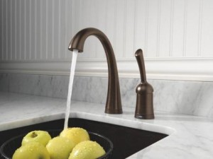 Delta 1980T Single Handle Electronic Bar Faucet with Touch20 and Diamond Seal Technology from the Pilar Collection