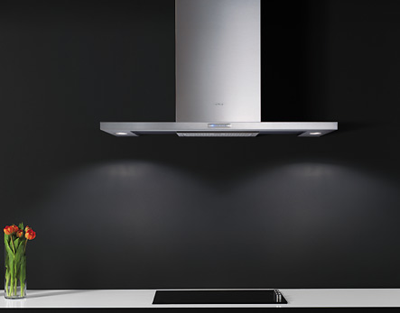 Elica 36 Inch Wall Mounted Range Hood from the Atlantis Collection