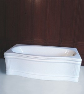Herbeau Old Time  Free Standing Soaking Tub