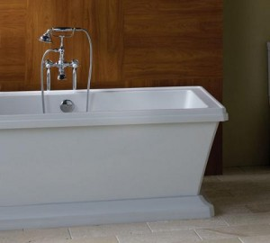 Porcher Lutezia Free Standing Soaking Bath Tub With Chromotherapy