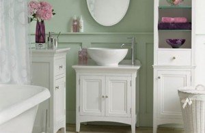 Simple White Furniture And Fixtures Combined With Light Pastels And A Few Bold Pops Of Color Make Your Bathroom Seem Brigh And Inviting