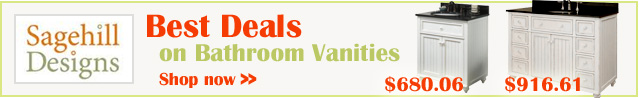 Best prices on Sagehill Bathroom Vanities