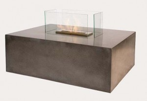 Blocco Bio Ethanol Ventless Fireplace - Free-Standing