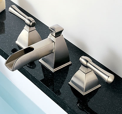Brizo B67745-BZ Vesi Double Handle Roman Tub Faucet