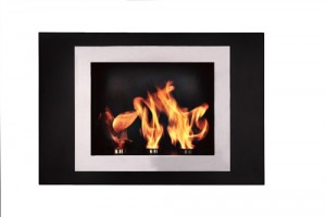 Fiorenzo Bio Ethanol Ventless Fireplace - Wall Mount
