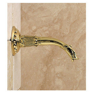 Herbeau 2118 Gargoyle Wall-Mounted Non-Diverter Tub Spout Only, Less Valve