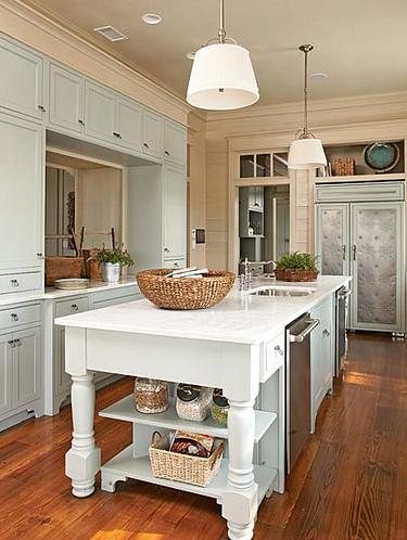 Kitchen Islands Can Help Temper Oversized Kitchen Floorplans, And Very Big Ones Can House Sinks And Even Appliances