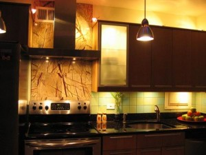 Lighting Under And Inside Your Cabinets Can Make Them Seem To Glow From Within, Creating A Warm, Inviting Look