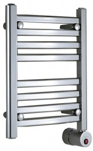 Mr Steam Steambaths Polished Chrome Wall Mount Electric Towel Warmer W219