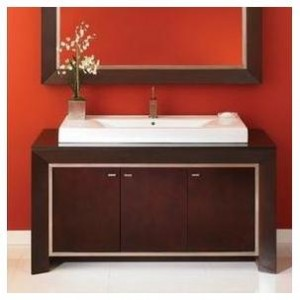 DecoLav 5660 Cityview Main Vanity Cabinet with Granite Top