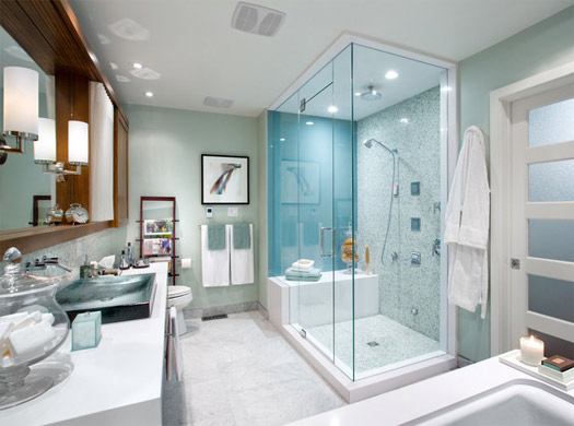 Even In A Relatively Small Bathroom, With Good Design You Can Make Space For All Your Little Luxuries