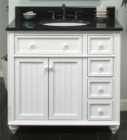 "Sagehill Designs 36"" Bathroom Vanity From The Cottage Retreat Collection"