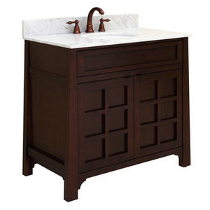Sagehill Designs Wood Vanity Cabinet from the Parkdale Collection