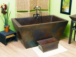 Sierra Copper Tubs - Lexington