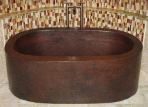 Sierra Copper Tubs - Providence