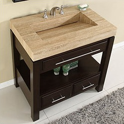 Silkroad Exclusive Single Vanities Size HYP-0218-36 in 30 to 45 inches