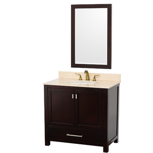 Abingdon 36 Inch Single Bathroom Vanity Set In Espresso