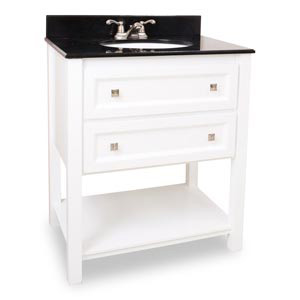 Adler White Vanity From Bath Elements
