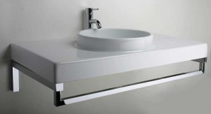 LaToscana Wall Mount Vanity Console From The Planet 85 Series