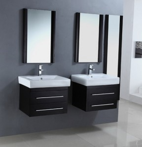 Legion Matching Modern Wall Mount Vanities