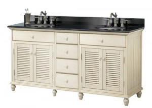 Pegasus 60 Inch White Vanity From The Cottage Collection