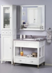 Sagehill Metro White Bathroom Vanity