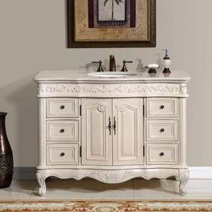 vintage bathroom vanity sink cabinets. Silkroad Exclusive HYP 0152 UWC 48 White Bathroom Vanities  The Perfect Finishing Touch For Your