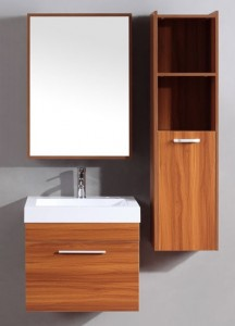 Silkroad Exclusives Modern Wall Mount Vanity CA-537
