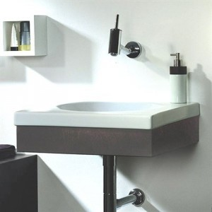 Whitehaus Collection Low Bathroom Vanity