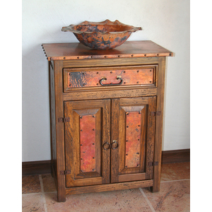 Sierra Copper SCANA Copper Bathroom Vanity